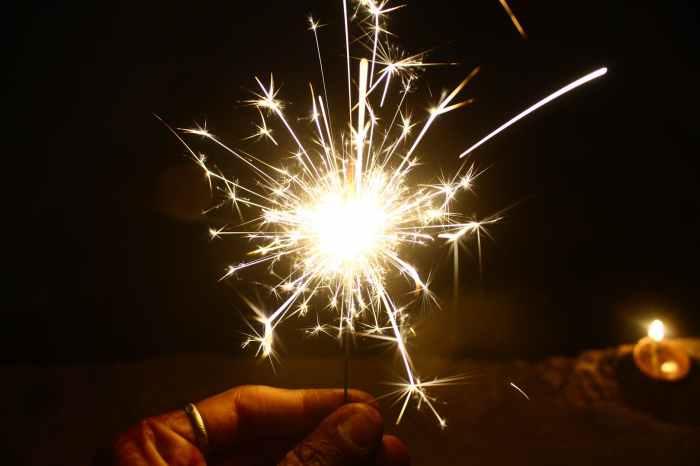 Beautiful spark of Joy
